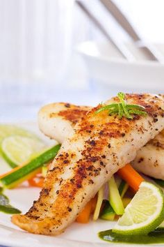 Redfish, aka Red Drum or just Reds, is a great choice for baking because it's firm and easy to handle. Its mild flavor makes it a great contender for bold spice