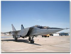 Mig 25 two seated version