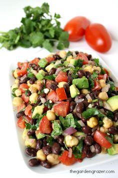 The Garden Grazer: Fiesta Bean Salad