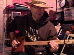 Cigar Box Guitar - How to Play Cant be Satisfied by Muddy Waters