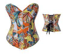 Mutlicolour corset
