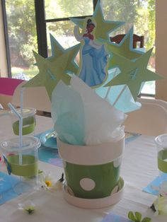 princess tiana party ideas   ... touch to any party, but especially a Princess and the Frog theme