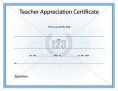 teacher appreciation certificate template - adoption certificate templates and templates on pinterest