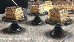 Prajitura Vladut cu nuca si vanilie reteta video - Adygio Kitchen Romanian Desserts, Tiramisu, Dessert Recipes, Baking, Ethnic Recipes, Foods, Food Food, Food Items, Patisserie