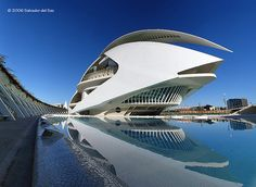 Palacio de las Artes Reina Sofia - Valencia Spain