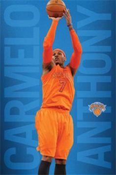 d1fcae9c563c New York Knicks Carmelo Anthony Poster Poster Print - Item   VARSCO13058