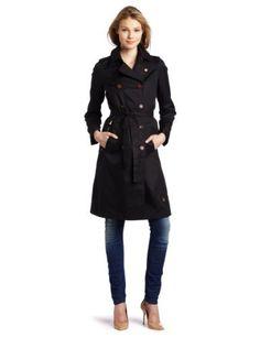 G-Star Women's Cl Smart Trench Coat, Black  #ashleesloves