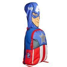 Mochila con capucha Capitán América