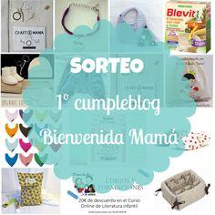 Pásate por el blog de Bienvenida Mamá y no te pierdas este fantástico sorteo que ha organizando para celebrar su primer año de blog!!