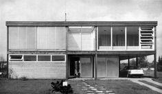 House (1963) in Cologne, Germany, by Joachim Schürmann