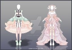 [Open] Design adopt_46-47 by Lonary.deviantart.com on @DeviantArt