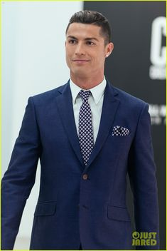 Cristiano Ronaldo Makes His Runway Debut for CR7 Collection: Photo #3478542. Cristiano Ronaldo looks super suave in his suit while making his runway debut to launch the new CR7 Footwear collection on Monday (October 5) in Guimaraes, Portugal.…