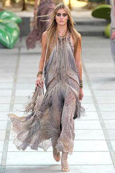 Roberto Cavalli Spring 2011 Ready-to-Wear Fashion Show - Kori Richardson