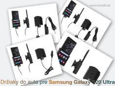 New car holders for the Samsung Galaxy Ultra Passive Brodit holder for fixed installation in your car, with active CL charger with USB or Molex connector. Samsung A 7, Samsung Galaxy, Molex Connector, Car Holder, Ipad Air, Usb, Apple Iphone, Volkswagen, Charger