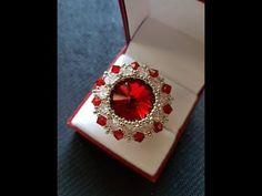 Tutorial Vanity Ring (variante ciondolo oppure orecchini) - YouTube