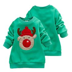 Awesome 0-3Y Kids Sweater Autumn/Winter Baby Boys Girls Knitted Sweaters Casual Cartoon Elk Pattern Tops Christmas Gift For Children - $23.13 - Buy it Now!