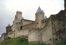 Carcassonne Medieval Towns in Languedoc, France