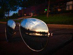 Sundown / Naplemente Pilot, Aviation, My Photos, Sunglasses, Photography, Photograph, Air Ride, Fotografie, Pilots