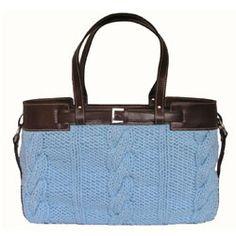Knit Handbags via Hauteness - The Handbag Magazine