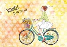 Sommer [Illustration] -