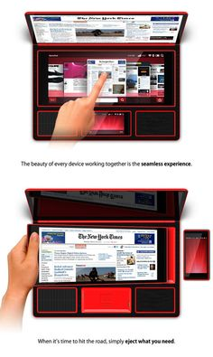 Bento Laptop Tablet Hybrid by by Rene Woo-Ram Lee ..