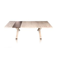 HOLLYWOOD Cocktail Table in Snowy Elm - Contemporary Industrial Mid-Century / Modern Art Deco Coffee & Cocktail Tables - Dering Hall