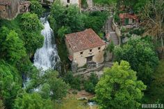 Beautiful Places In Spain, Places To Travel, Places To Visit, Real Castles, Spain And Portugal, Spain Travel, The Good Place, Tourism, Waterfall