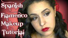 Hot date? Here's a #sexy #flamenco #makeup#tutorial #noblandmakeup#historyofmakeup#bblogger