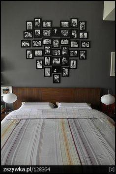 Love wall photo installation.