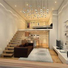 trendy home design layout loft Loft Apartment Decorating, Apartment Interior Design, Best Interior Design, Apartment Ideas, Apartment Layout, Interior Modern, Scandinavian Interior, Interior Ideas, Home Design
