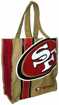San Francisco 49ers Handbag Shopping Bag NFL. $9.99