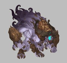 ArtStation - Monsters - Torchlight 2, Kyle Cornelius