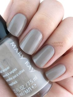 Mary Kay Fall 2015 City Modern Collection Nail Lacquers: Gallery Grey