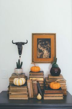 Thoughts from Alice: Eclectic Fall Decor Ideas
