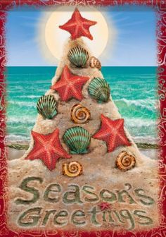 Merry Christmas at the Beach | ... this on the sand at the beach it would be a great christmas card idea