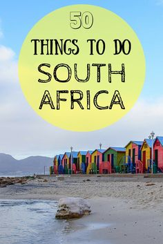 The perfect guide to create your South African Itinerary!