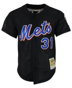 Mitchell   Ness Men s Mike Piazza New York Mets Authentic Mesh Batting  Practice V-Neck Jersey Men - Sports Fan Shop By Lids - Macy s ad7a6bab7