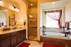 Milano Master Bathroom by Sitterle Homes
