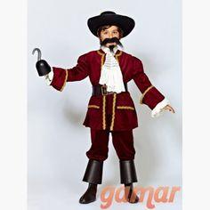 Disfraz Capitán Garfio Niño. Disfraces para Niños. Disfraces de Calidad. Fabricación Nacional. www.disfracesgamar.com Captain Hook, Fancy Dress For Kids, Costume