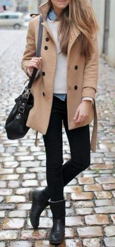Adorable and beautiful winter outfits for work 2017 14 96dpi