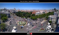 Plaza de Cibeles | Madrid | Panorámica