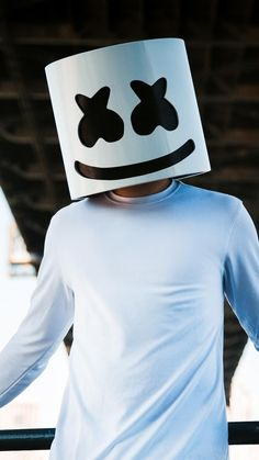 Marshmello DJ Mask In Auflösung marshmello wallpaper Phone Screen Wallpaper, Music Wallpaper, Wallpaper Iphone Cute, Hd Wallpapers For Mobile, Pretty Wallpapers, Mobile Wallpaper, Artwork Dj, Marshmallow Pictures, Cardi B Pics