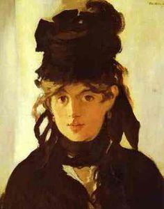 Berthe Morisot by Edouard Manet (1832–1883)