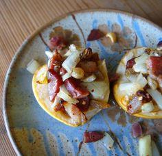 Savory Baked Apples, a great alternative to eggs for breakfast #grainfree #Paleo #breakfast