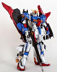 GUNDAM GUY: PG 1/60 MSZ-006 Zeta Gundam - Customized Build