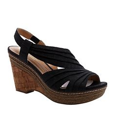 Naturalizer Lulianna Wedge Sandals