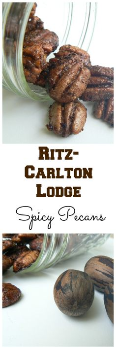 Spicy Pecans. The Bartender at a Ritz gave me the recipe.