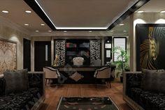 Osmanlı Desenler Ofis Mobilyası Tasarımları | Makam Odası Mobilyaları