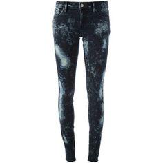 RALPH LAUREN DENIM & SUPPLY bleached skinny jeans