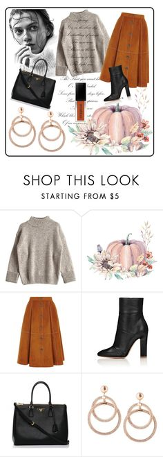 """""""🌰🌰🌰🌰"""" by besio ❤ liked on Polyvore featuring Prada"""